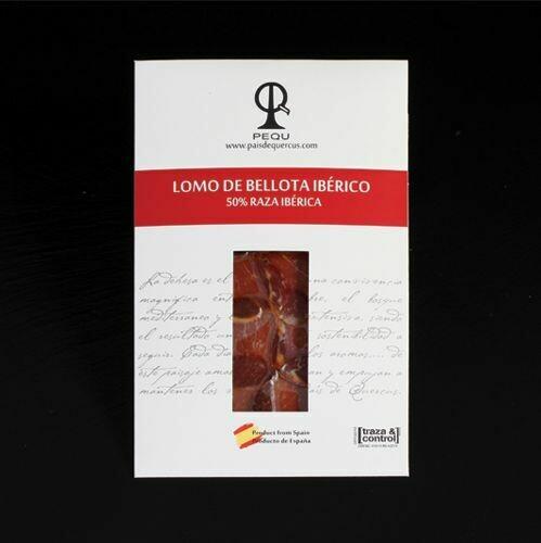 LOMO DE BELLOTA 50% IBÉRICO 6@PQ - 100 g.