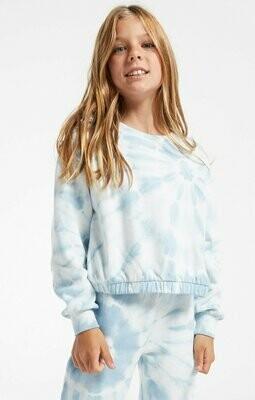 Z Supply Kids Carmen Tie Dye Pullover