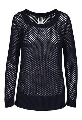 Tribal Long Sleeve Open Stitch Sweater