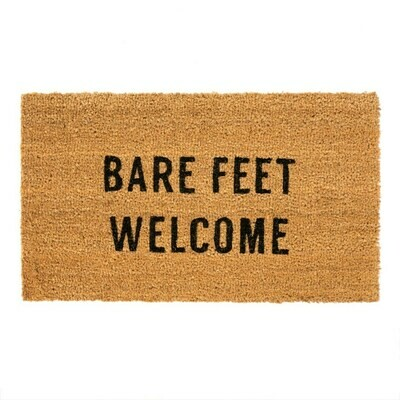 Indaba Doormat With Sayings