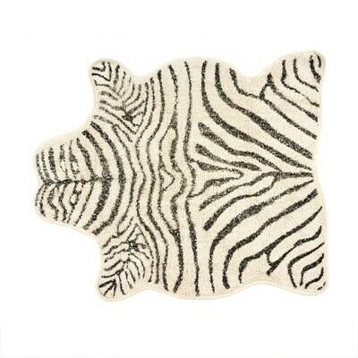 Indaba Tufted Zebra Rug