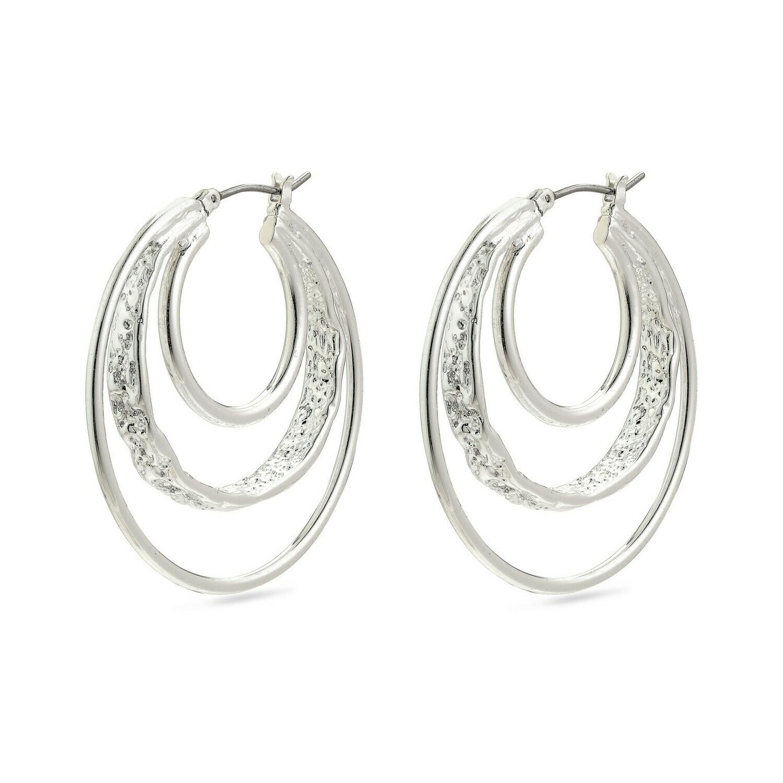 Pilgrim Valkyria Earring Tri Hoop