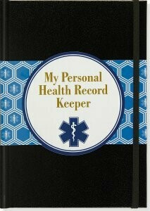 Peter Pauper Personal Health Record Keeper
