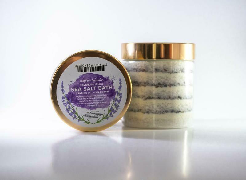Seafoam Lavender Bath Salt