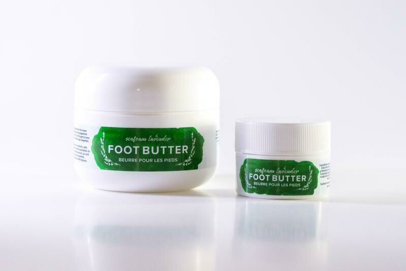 Seafoam Lavender Foot Butter