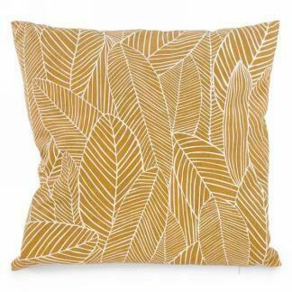 Cushion with Foliage Print