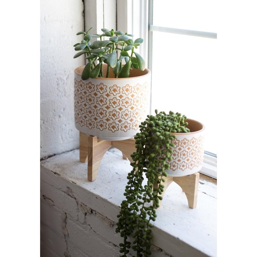 Pot Wood Stand