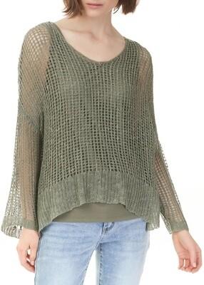 Charlie B Crochet Knit Sweater