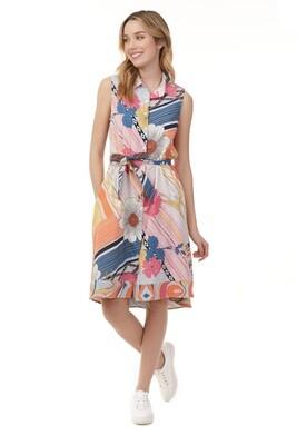Charlie B Printed Poppy Dress