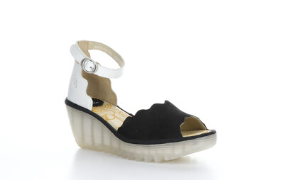 Fly London YECE213 Ankle Strap Heeled Sandal