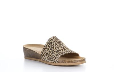 Bos & Co. Lux Leopard Sandal