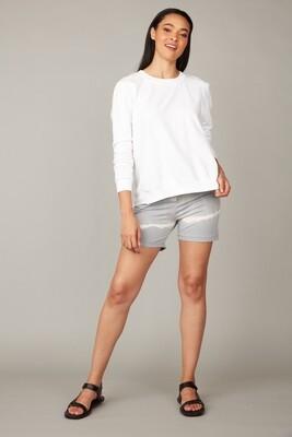 Pistache Summer Sweatshirt With Tencell Back
