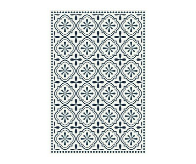 Rectangle Vinyl Floor Mat Cyclades 023617
