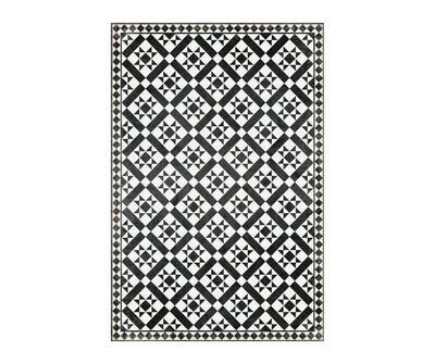 Rectangle Vinyl Floor Mat Rockefeller 023794