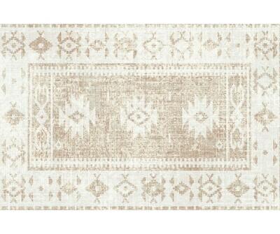 Rectangle Vinyl Floor Mat Persian 035303