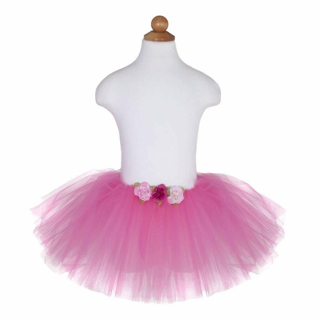 Rose Tutu Dark Pink 4-6 Yr