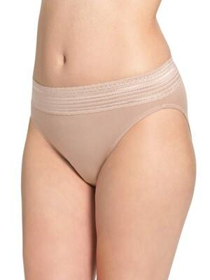 Warner's 2091 Cotton Hi Cut Underwear
