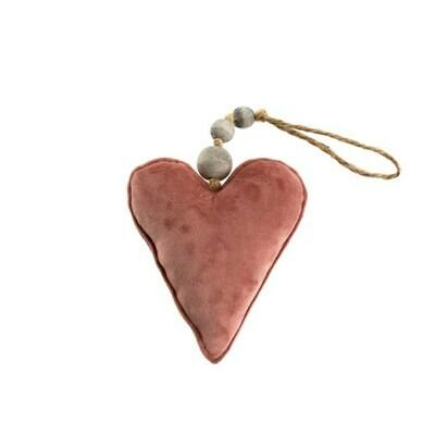 Indaba Velvet Multi Bead Heart