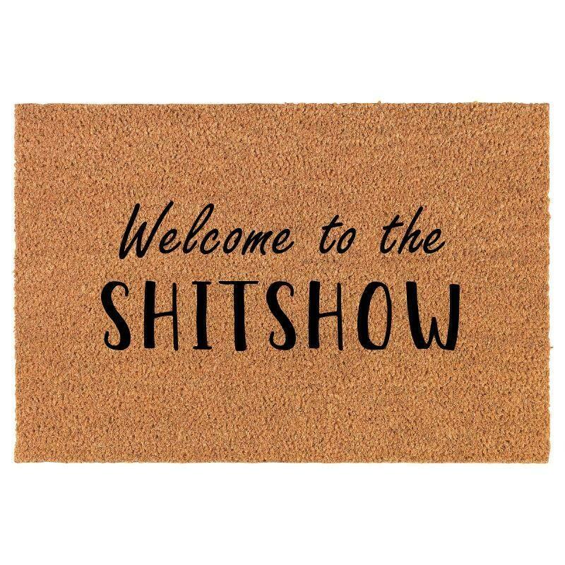 Coir Doormat Shitshow