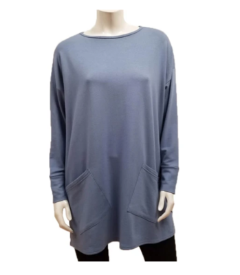 Gilmour Bamboo French Terry Two Pocket Tunic