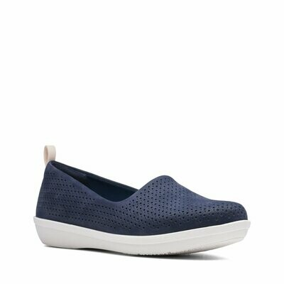Clarks Ayla Blair Perforated Slip On