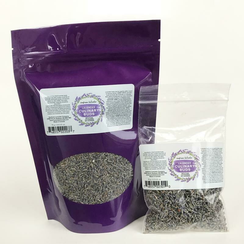 Seafoam Lavender Culinary Lavender Bags