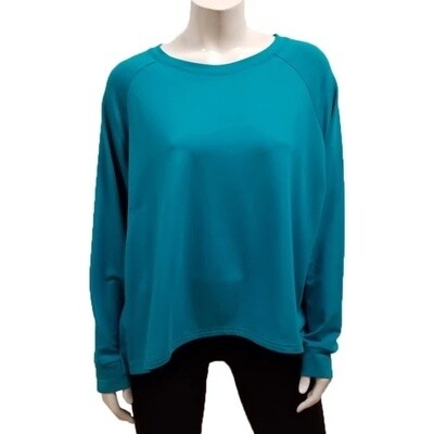 Gilmour Bamboo French Terry Cropped Sweatshirt