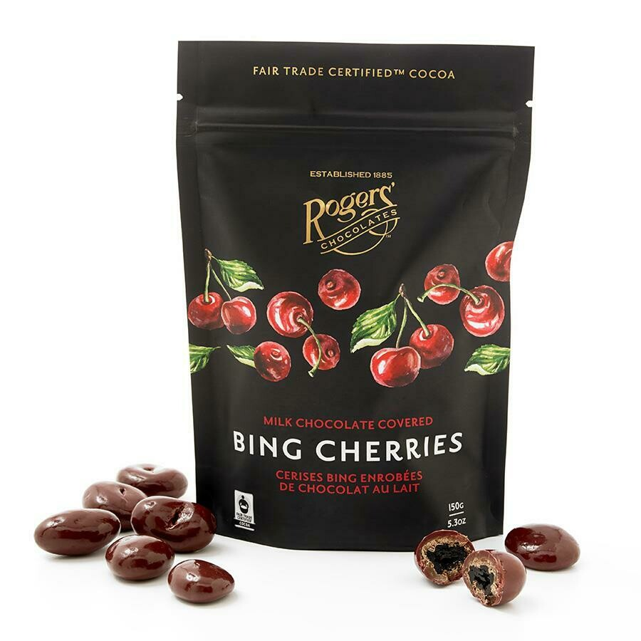 Rogers' Milk Chocolate Bing Cherries