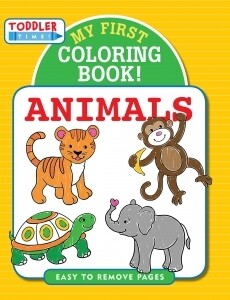 Peter Pauper My First Coloring Book