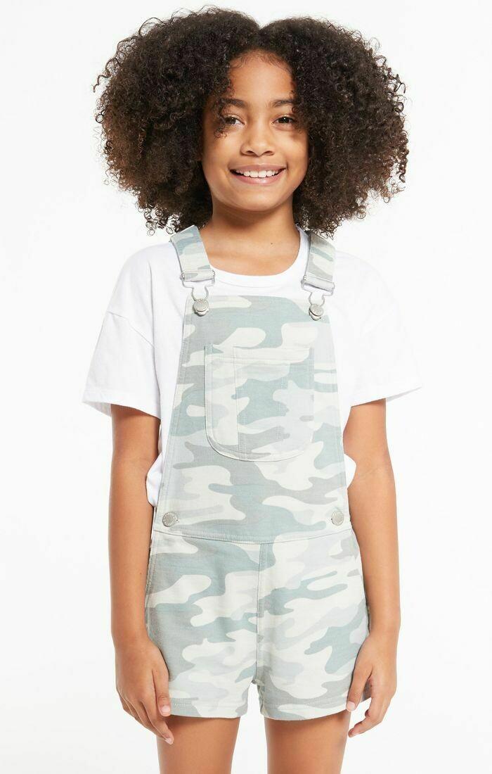 Z Supply Kids Payton Camo Shortall