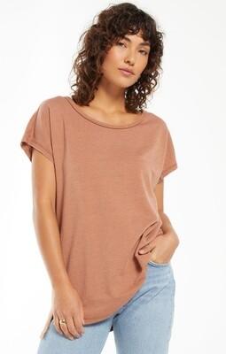 Z Supply Frankie Sweatshirt Tunic Tee