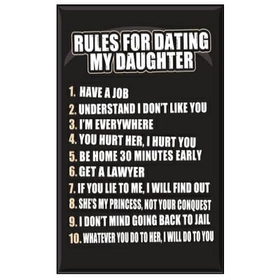 Jailbird Rules-Dating Daughters Magnet