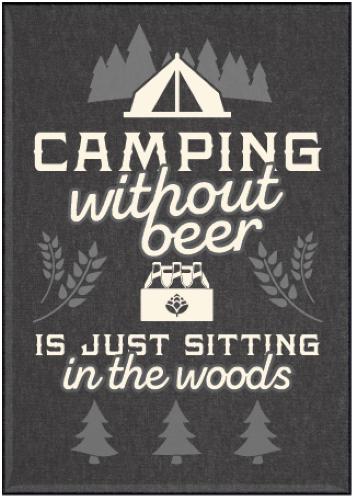 Jailbird Camping Without Beer Magnet