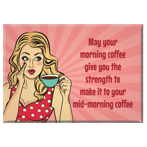 Jailbird Morning Coffee Magnet