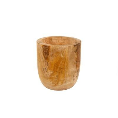 Indaba Mango Wood Egg Pot