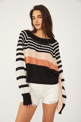 Free People Block Party Pullover