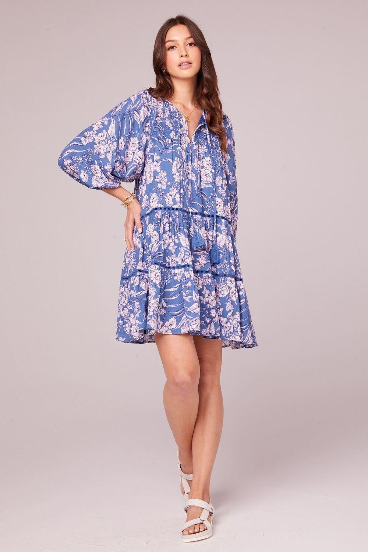 BOG Adeline Dress Blue Amethyst