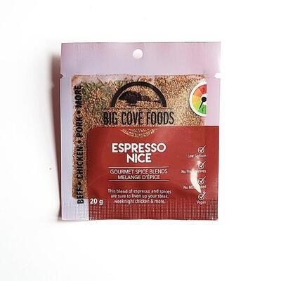 Big Cove Foods Espresso Nice
