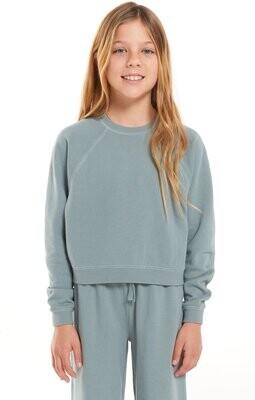 Z Supply Kids Ami Organic Sweatshirt Trooper