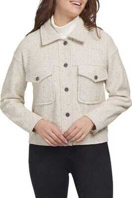 Tribal Oversized Jacket Short