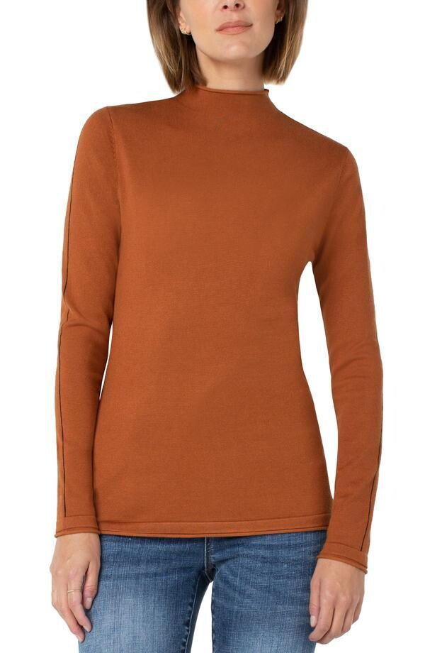 Liverpool Mock Roll Neck Sweater