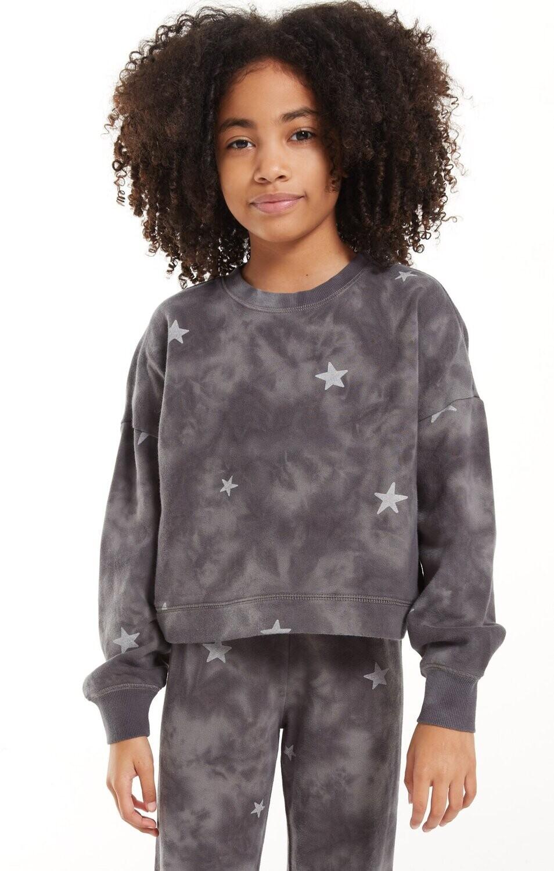 Z Supply Kids Mila Cloud Star Top