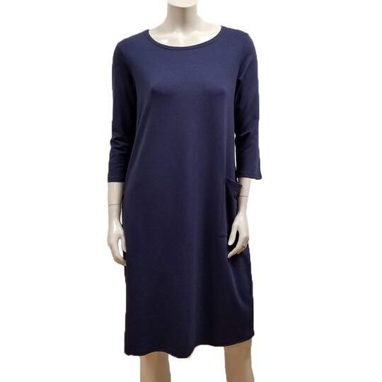 Gilmour Bamboo French Terry Pocket Dress Flight