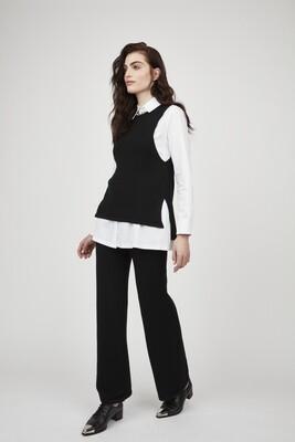 Pistache Knit Lounge Pant Black