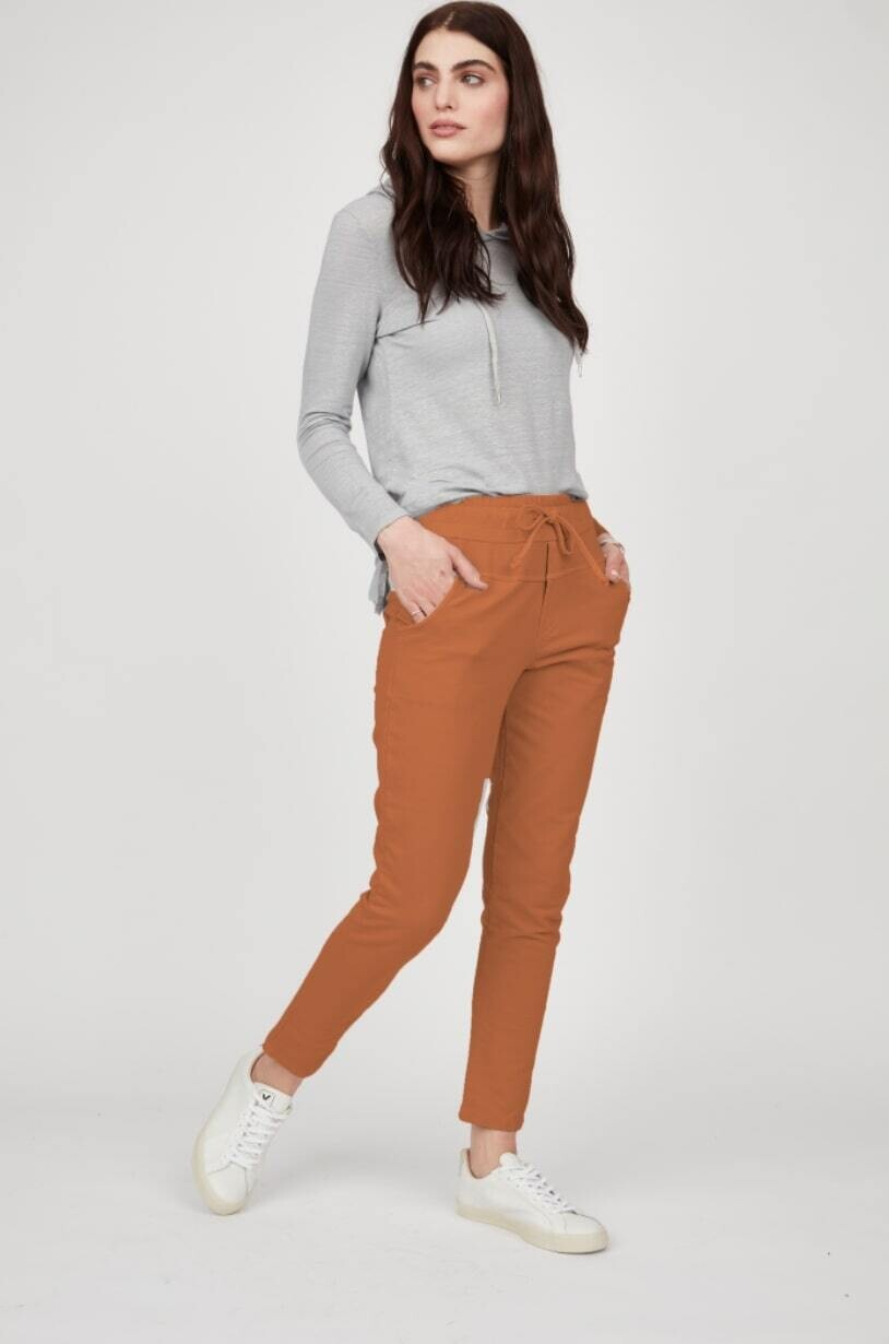 Pistache Classic Tailored Sweat Pant Toffee