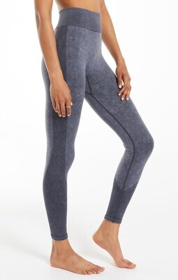 Z Supply Walk It Out Seamless Legging Washed Black