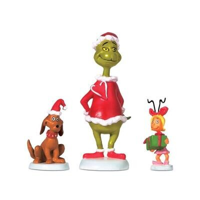 The Grinch Grinch, Max & Cindy Lou Who