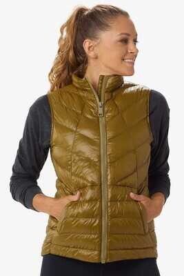 Lole Rose Synthetic Down Vest Moss