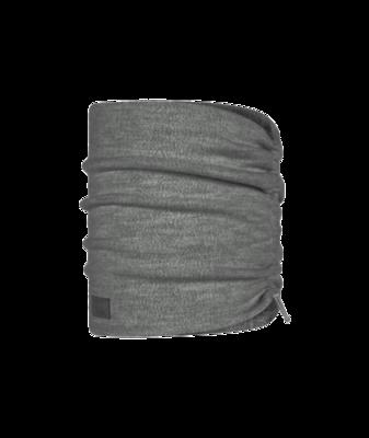 Buff Merino Fleece Neck Warmer Solid Grey