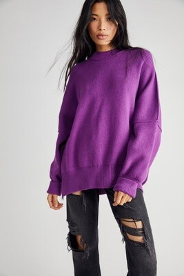 Free People Easy Street Tunic Sparkling Grape